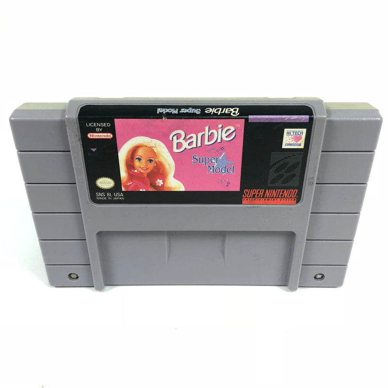 Barbie Super Model Super Nintendo Entertainment System SNES