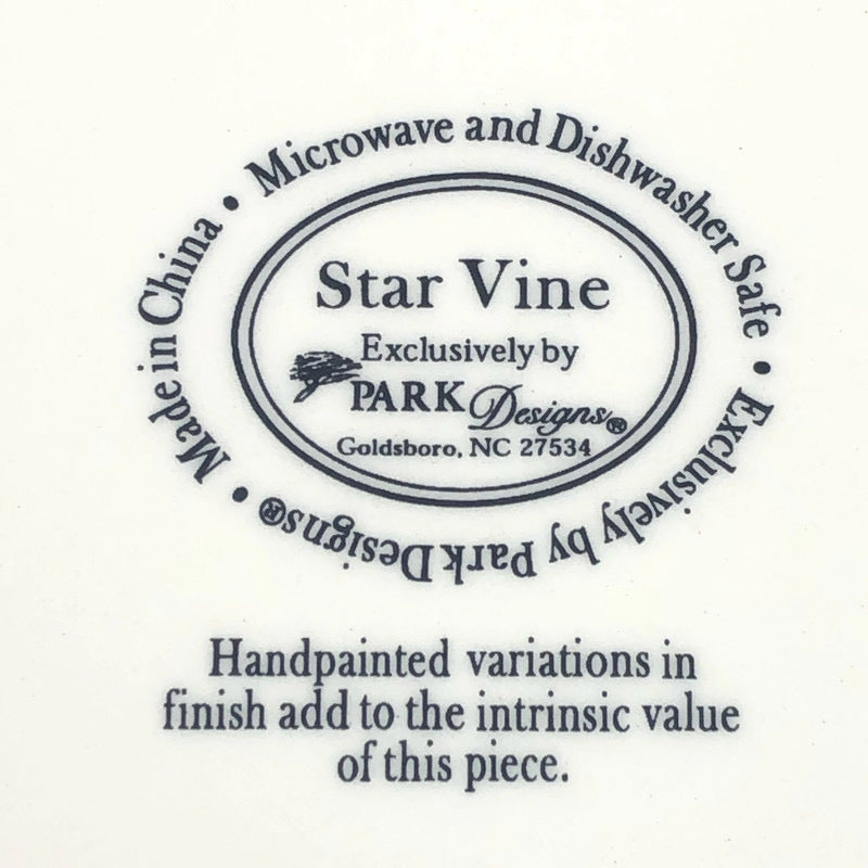 "(3) Park Designs Star Vine 7-10"" Mixing Bowls Set"