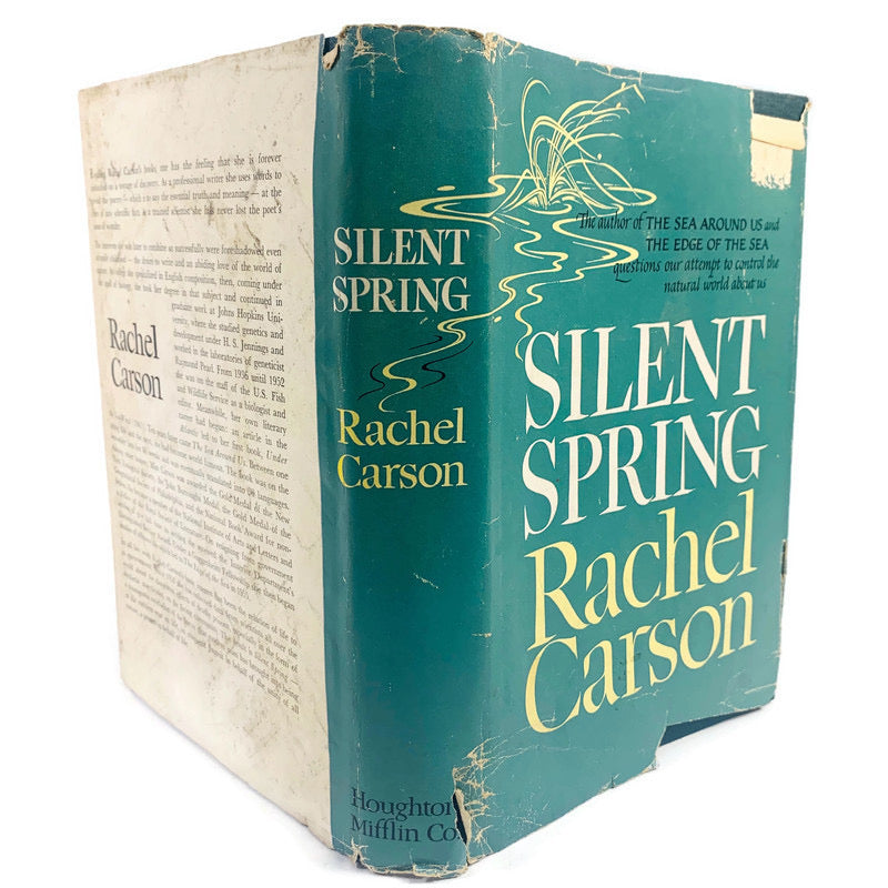 Silent Spring Rachel Carson 1962 1st Edition First Printing Book