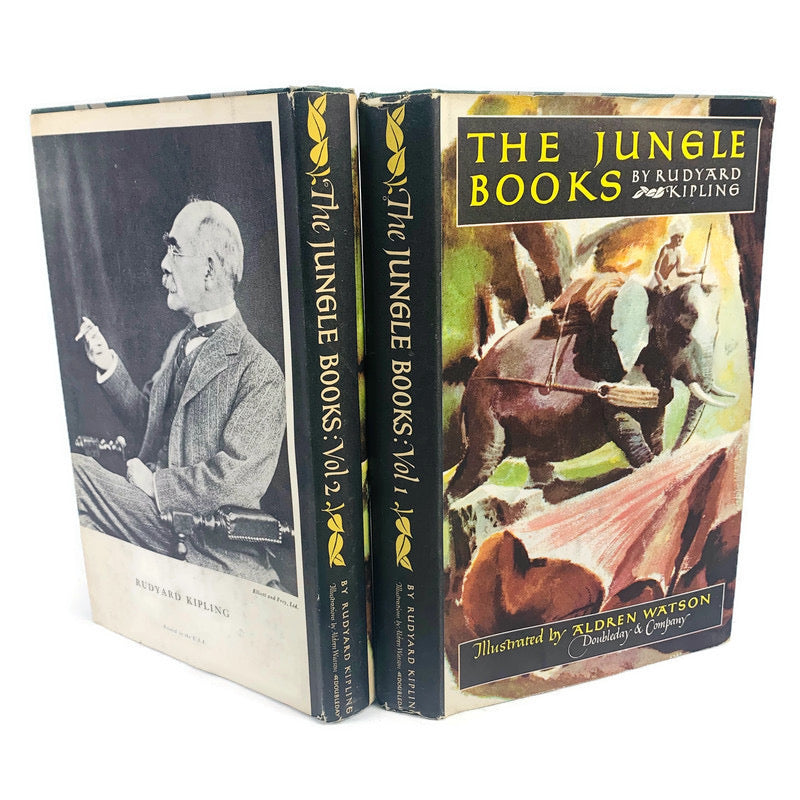 The Jungle Books 1948 Vol 1 & 2 Rudyard Kipling Aldren Watson Books