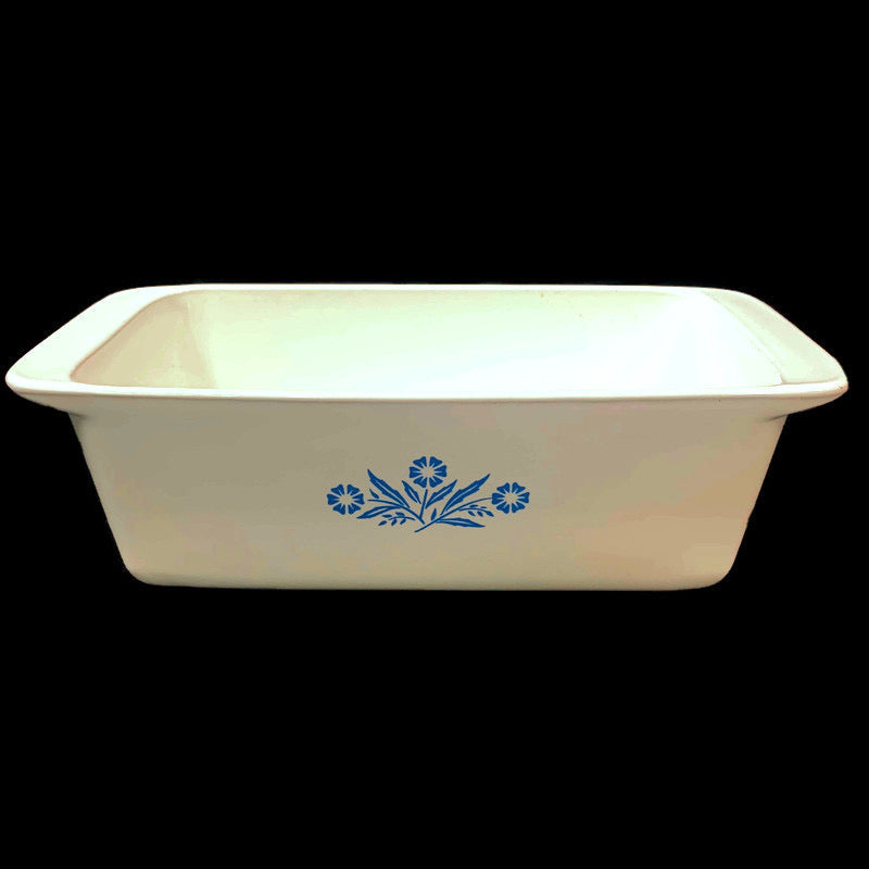 Corning Ware Blue Cornflower 2 Qt 9x5x3 Bread Loaf Dish P-315