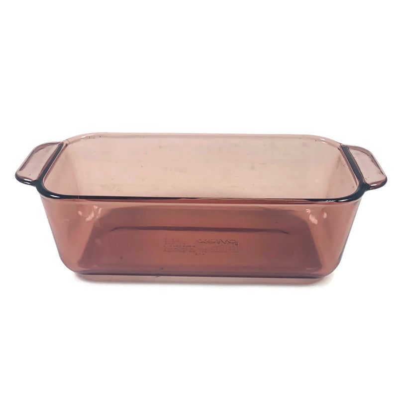 Pyrex Corning Cranberry Red 1.5 Qt 1.5 L Bread Loaf Dish 213-R