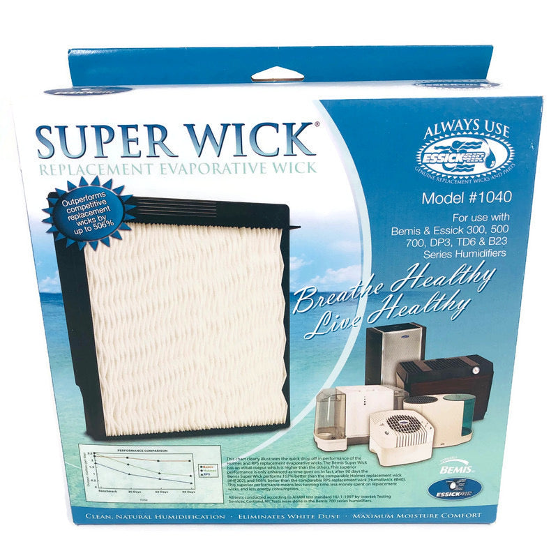 Essick Air Bemis 2 Pack Replacement Evaporative Super Wick Filter 1040
