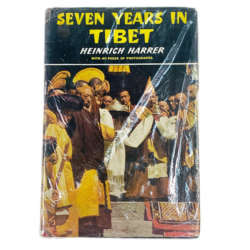 Seven Years In Tibet First Edition Heinrich Harrer Book