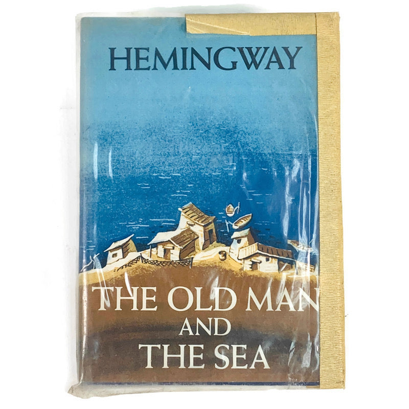 "The Old Man And The Sea First (1st) Edition ""W"" 1952 Earnest Hemingway Book"