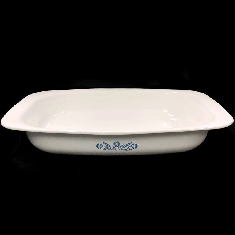 "Corning Ware Blue Cornflower 13""x9"" Casserole Roaster Pan P-21"