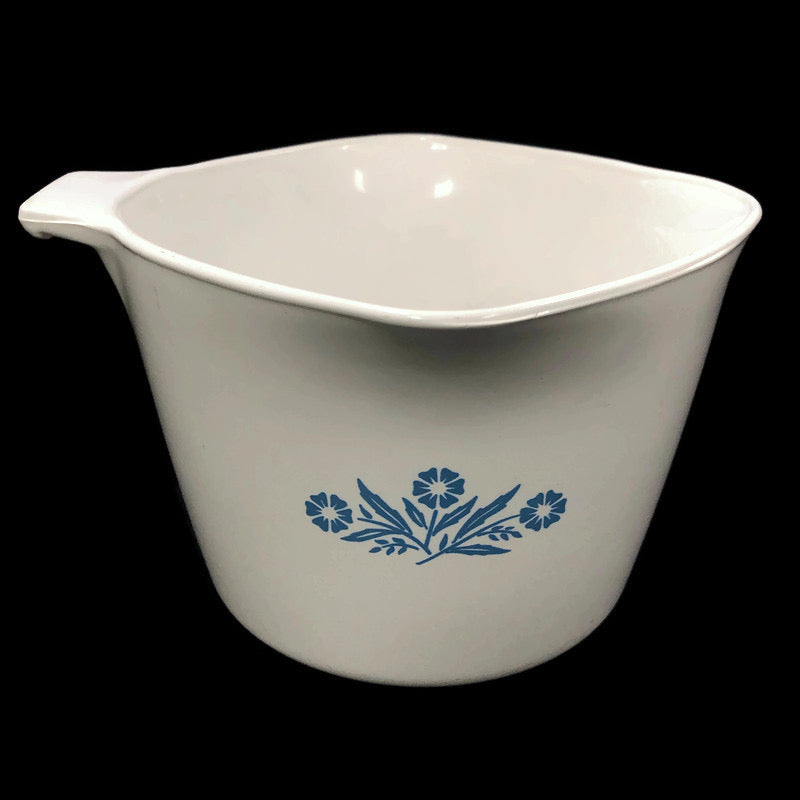 Corning Ware Blue Cornflower 1 Qt Sauce Maker Bowl P-55-B