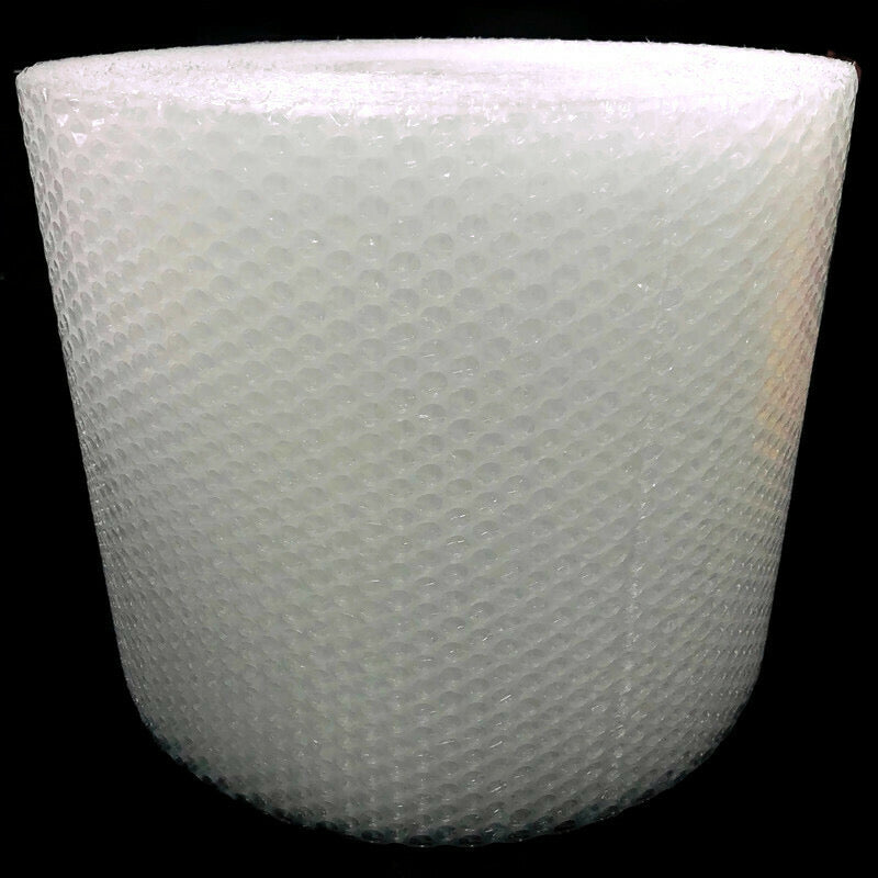 "Bubble Padding Clear Packaging Shipping Wrap 3/16"" Thick Perforated 12"" Roll"