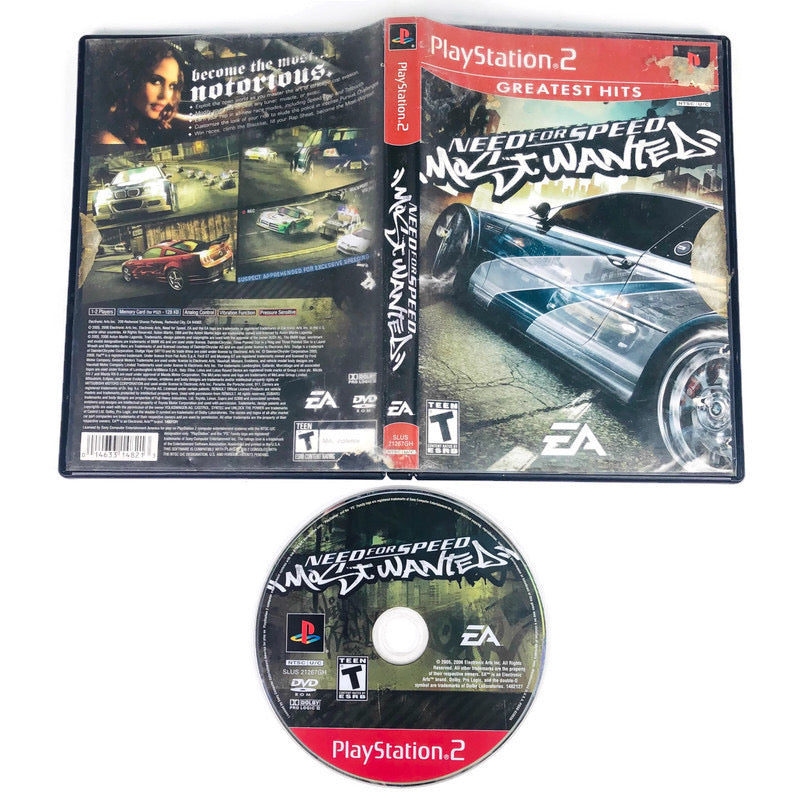 Need For Speed Most Wanted Greatest Hits Sony Playstation 2 PS2