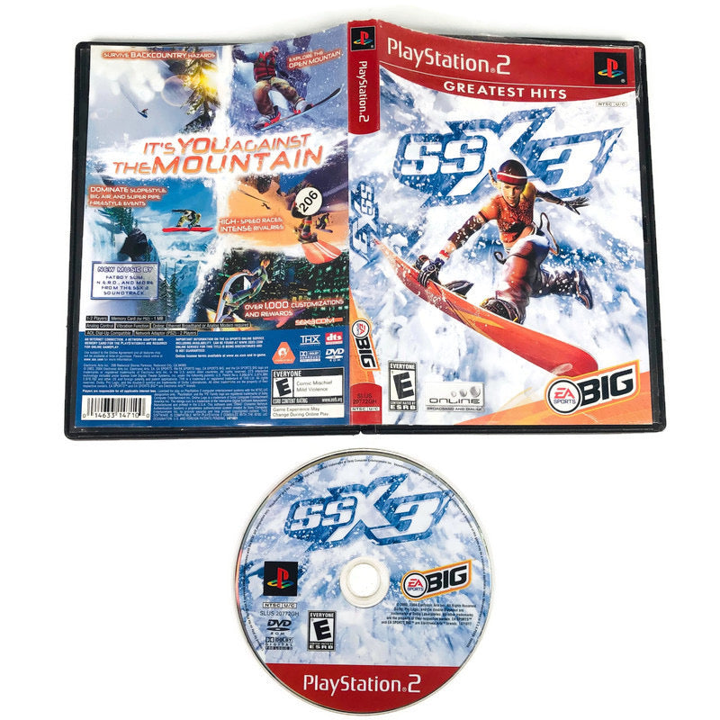 SSX 3 Greatest Hits Sony Playstation 2 PS2