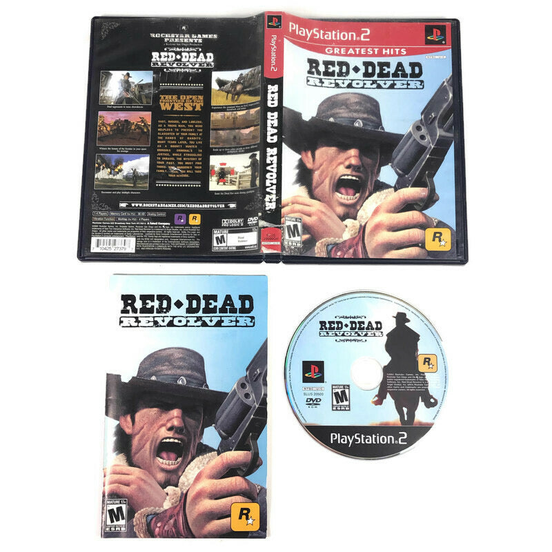 Red Dead Revolver Greatest Hits Sony Playstation 2 PS2