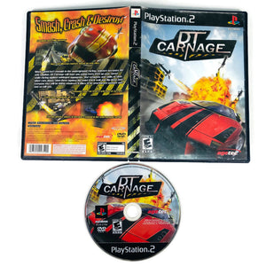 DT Carnage Sony Playstation 2 PS2