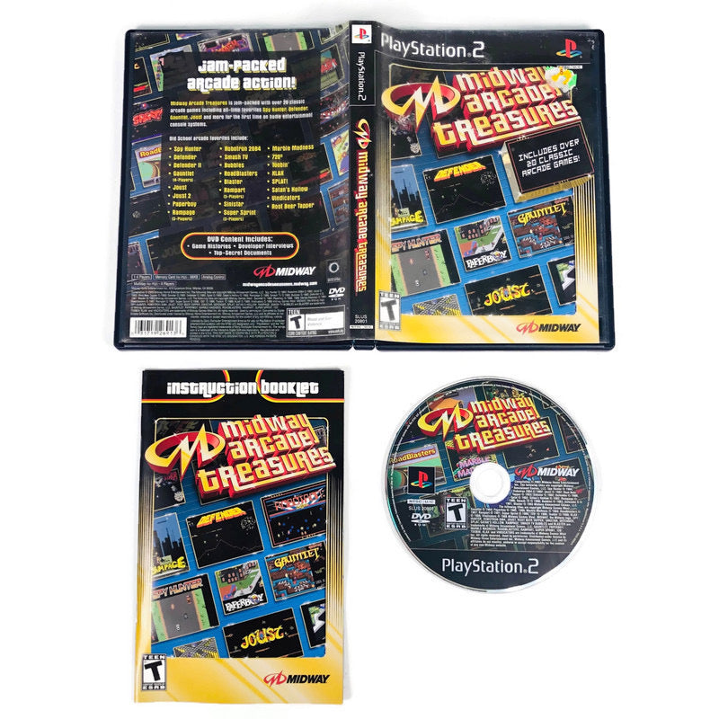 Midway Arcade Treasures Sony Playstation 2 PS2