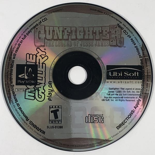 Gunfighter The Legend Of Jesse James Sony Playstation 1 PS1