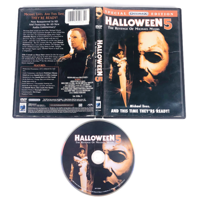 Halloween 5 The Revenge Of Michael Myers Special DVIMAX Edition DVD