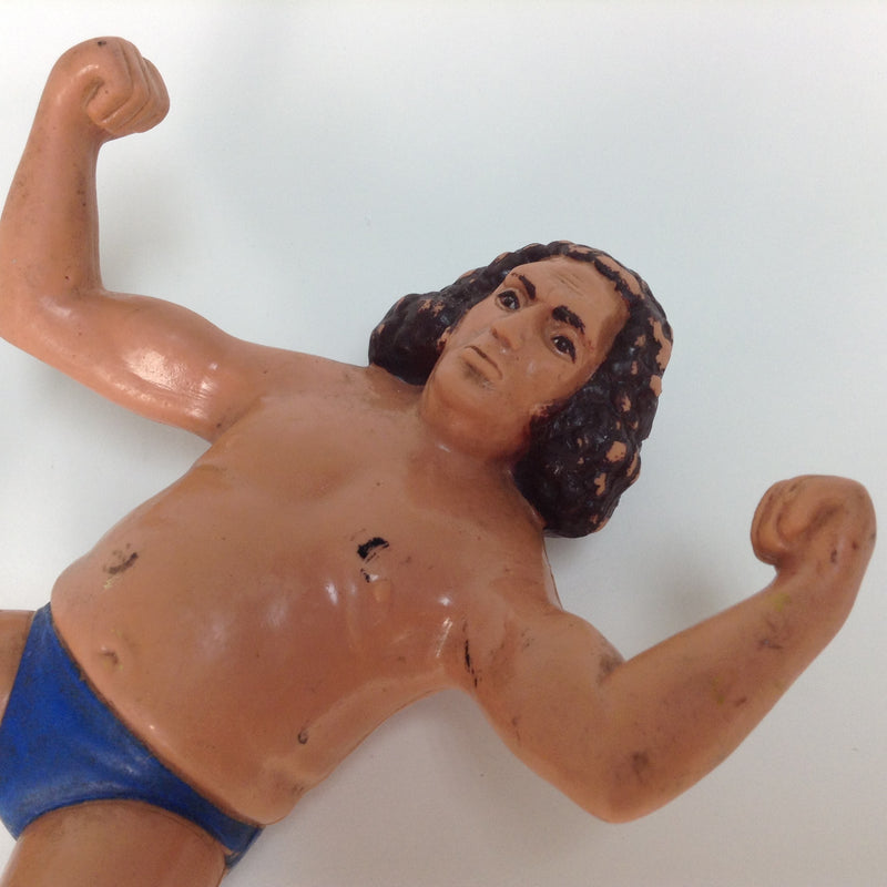 "Andre The Giant 8.5"" Titan Sports 1984 LJN Rubber Wrestling Figure WWE WWF"