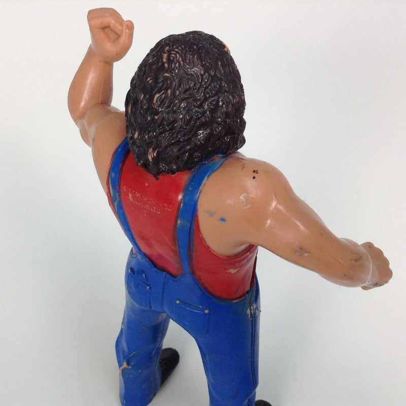 "Hillbilly Jim 8"" Titan Sports 1984 LJN Rubber Wrestling Figure WWE WWF"