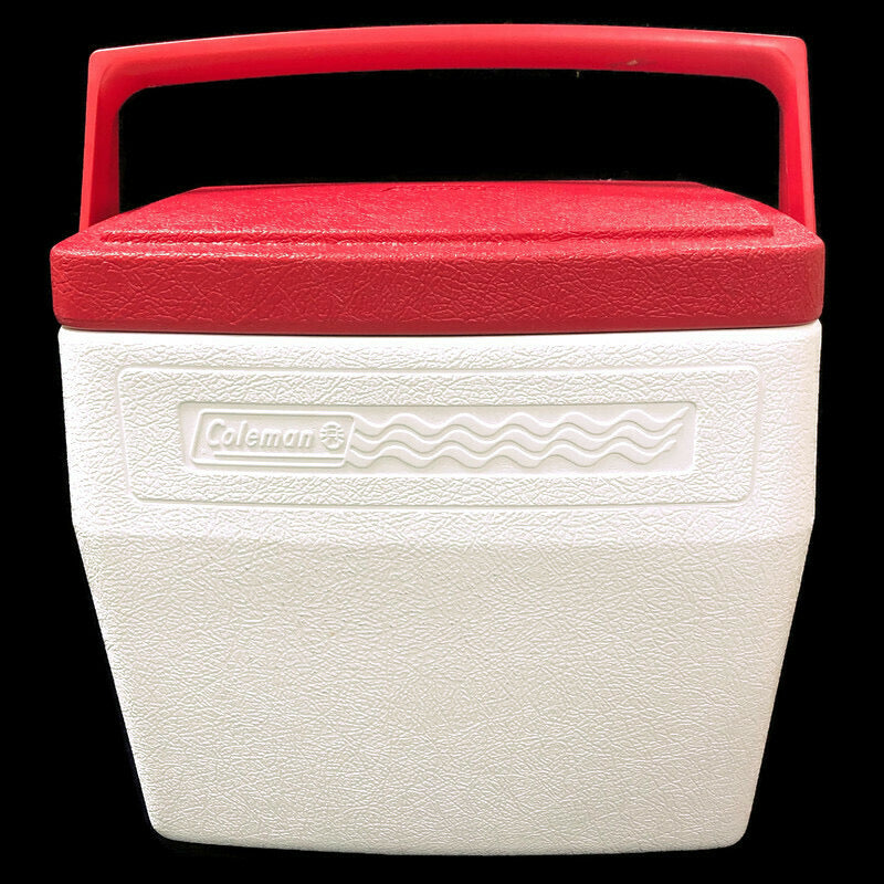 Coleman Personal White & Red Lid 16 Quart Lunch Box Cooler 5274