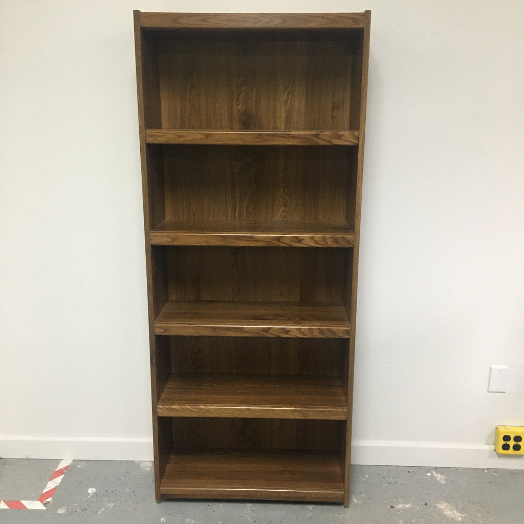 "72"" Replicated Wood 4 Shelf Bookcase"