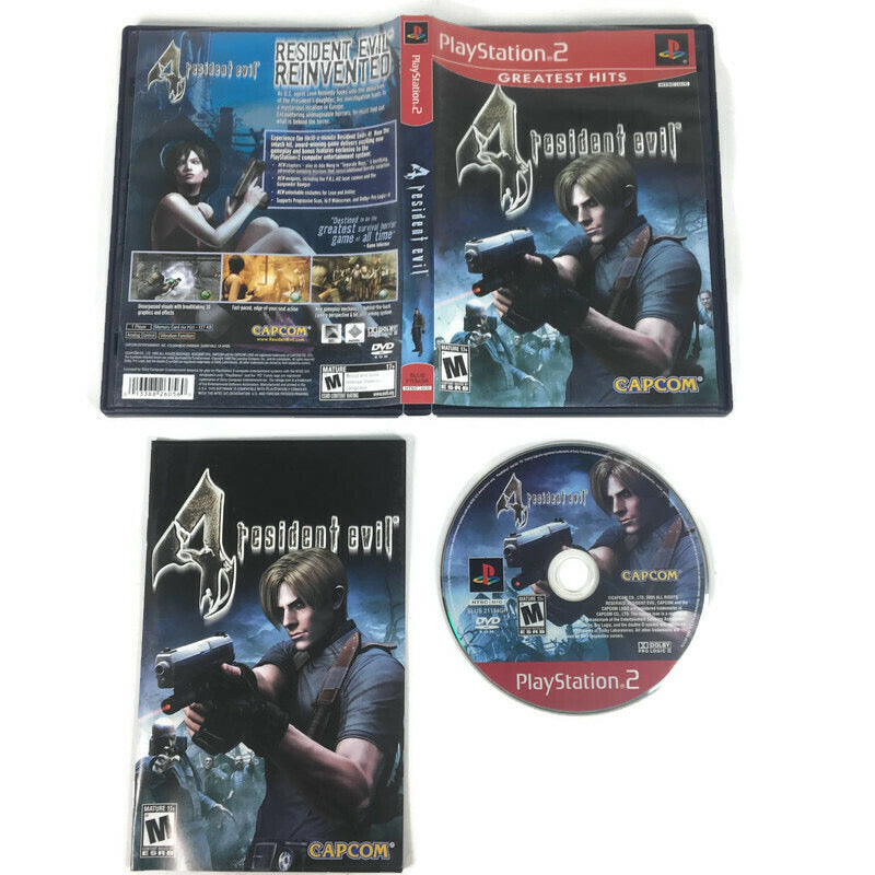 Resident Evil 4 Greatest Hits Sony Playstation 2 PS2