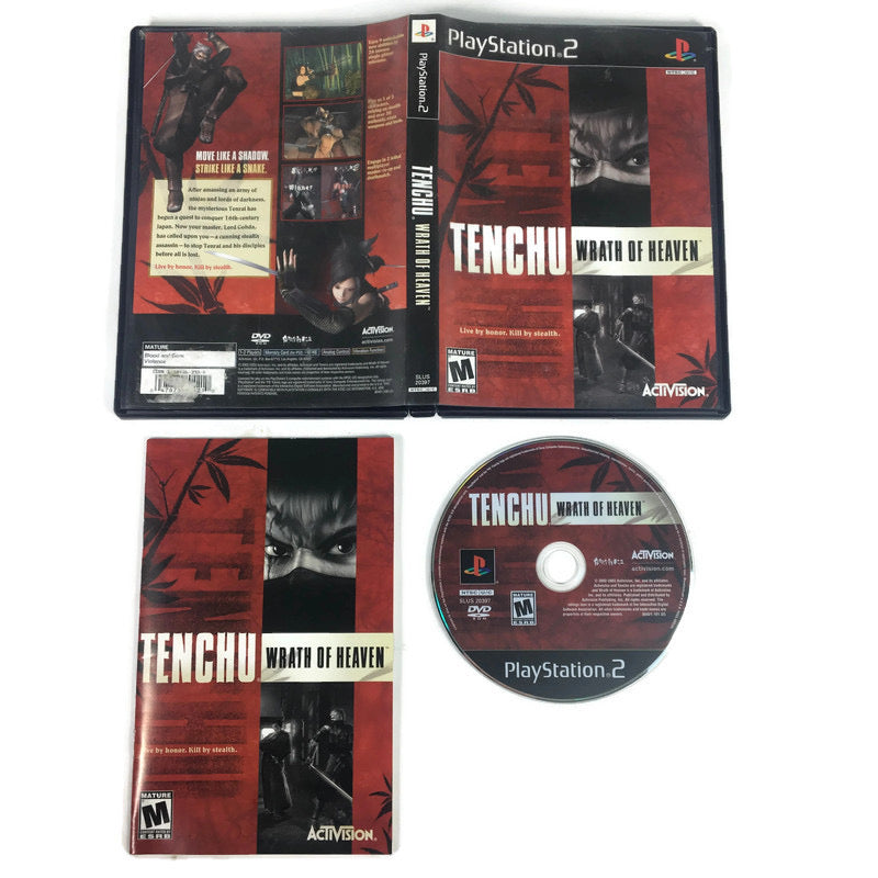 Tenchu Wrath Of Heaven Sony Playstation 2 PS2