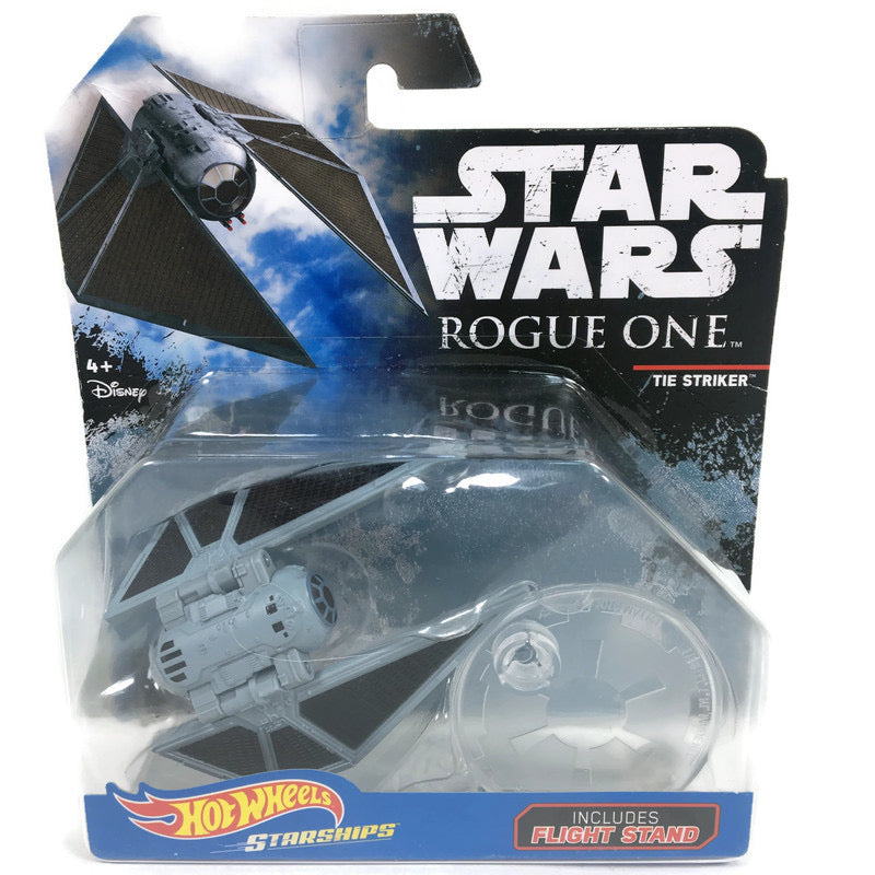 Star Wars Rogue One Tie Striker Hotwheels Starships Display Vehicle DXD98