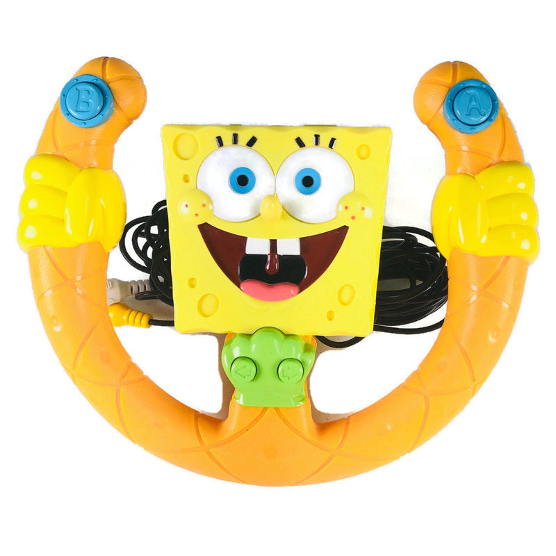 Spongebob Squarepants Jakks Pacific Steering Wheel Racing Plug N Play