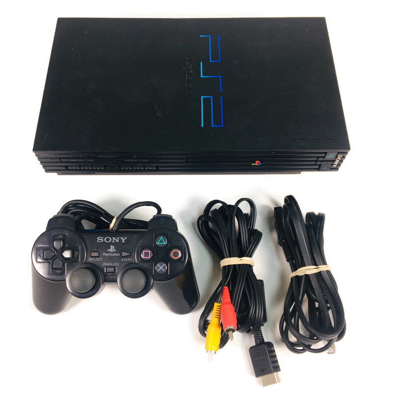 Sony Playstation 2 PS2 Fat Console System Bundle SCPH-50001