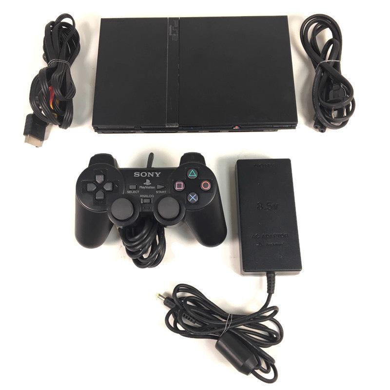 Sony Playstation 2 PS2 Slim Console System Bundle SCPH-75001