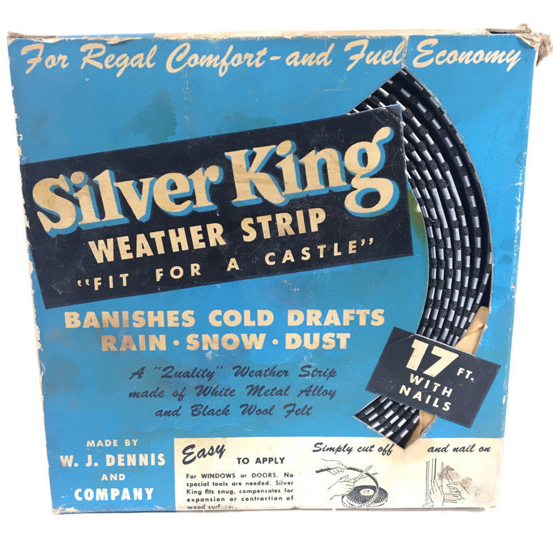 Silver King 17' Ft Weather Strip