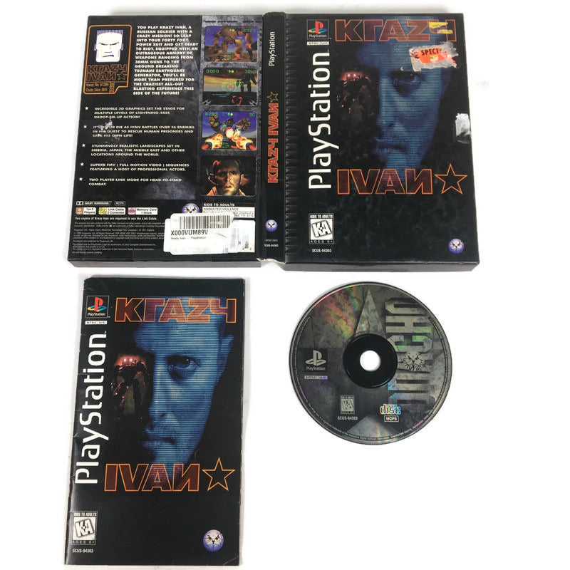 Krazy Ivan Sony Playstation 1 PS1