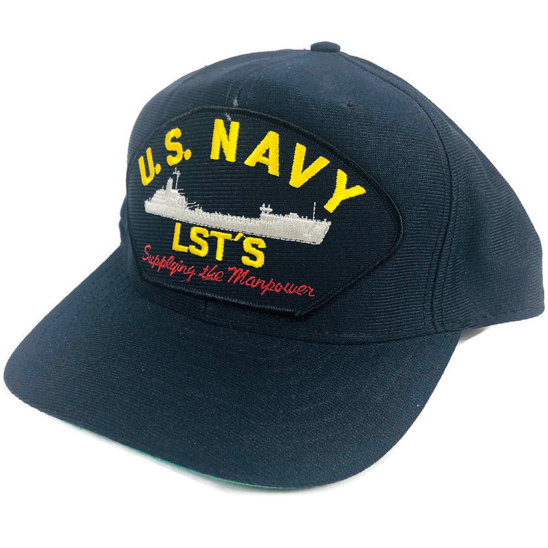 US Navy LSTS Supplying The Manpower Eagle Crest Snapback Hat