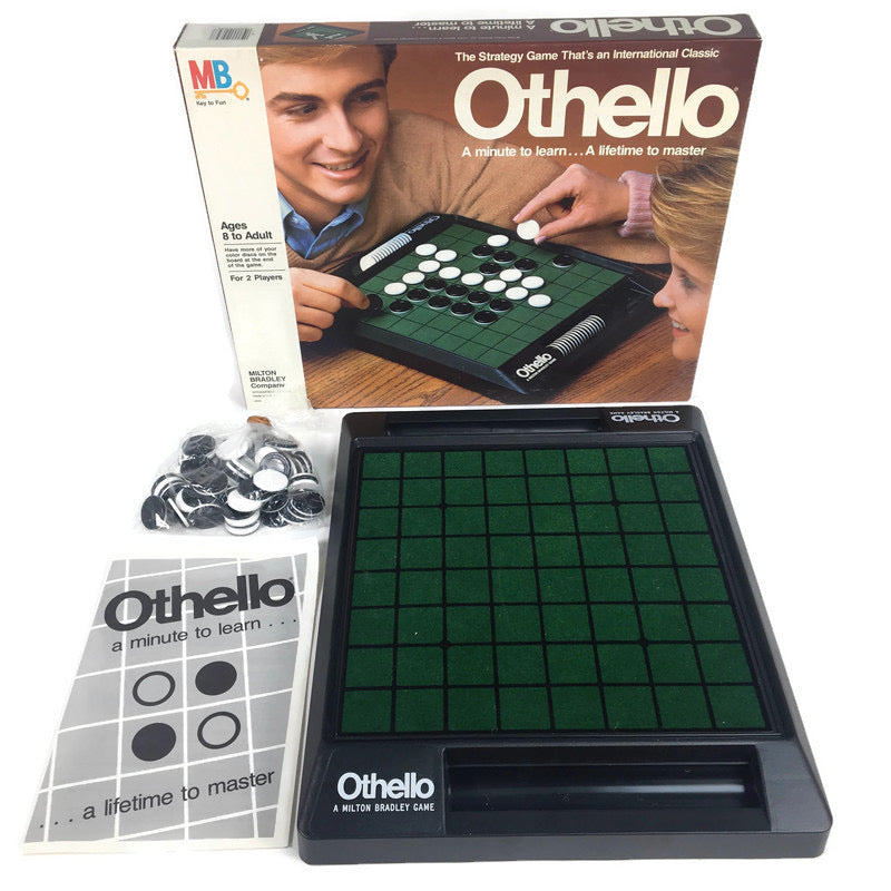 Othello 1986 Milton Bradley Board Game