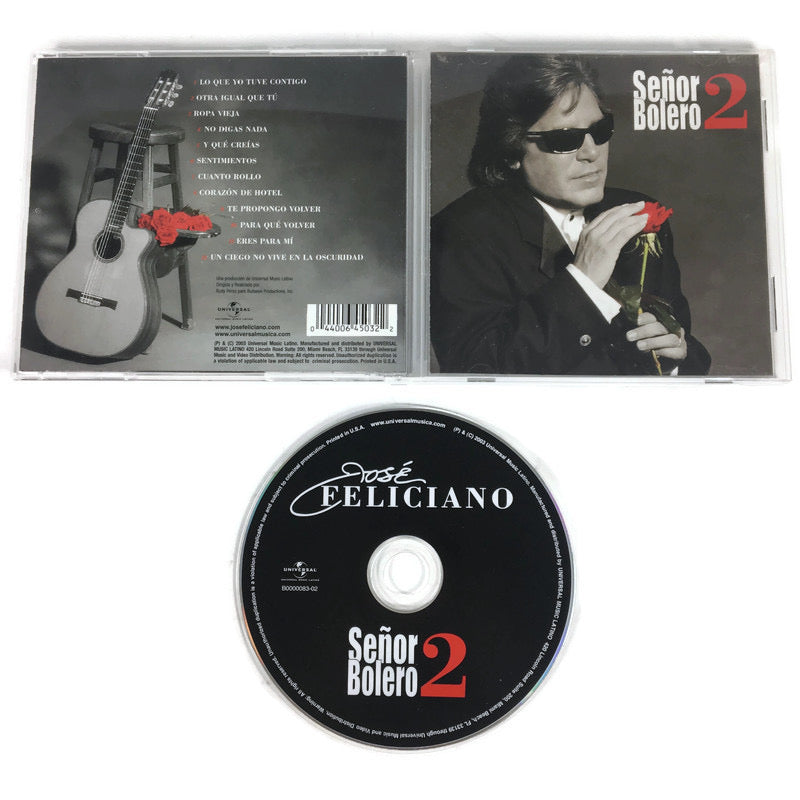 Jose Feliciano Senor Bolero 2 CD