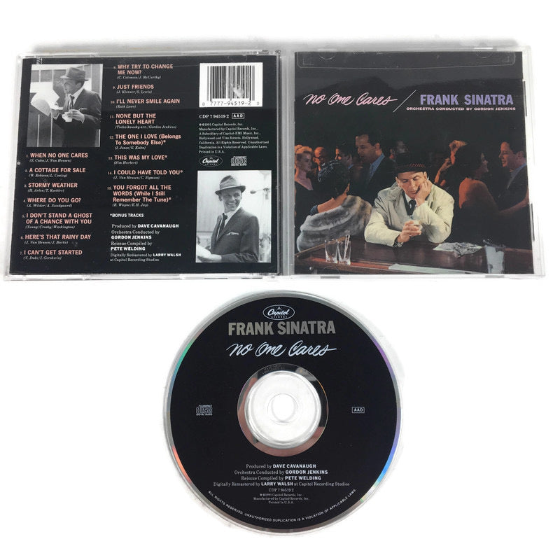 Frank Sinatra No One Cares CD