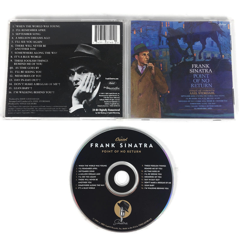 Frank Sinatra Point Of No Return CD