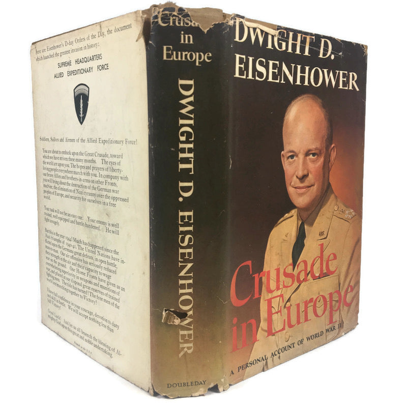 Crusade In Europe Dwight D Eisenhower A Personal Account Of World War II Hardcover Book