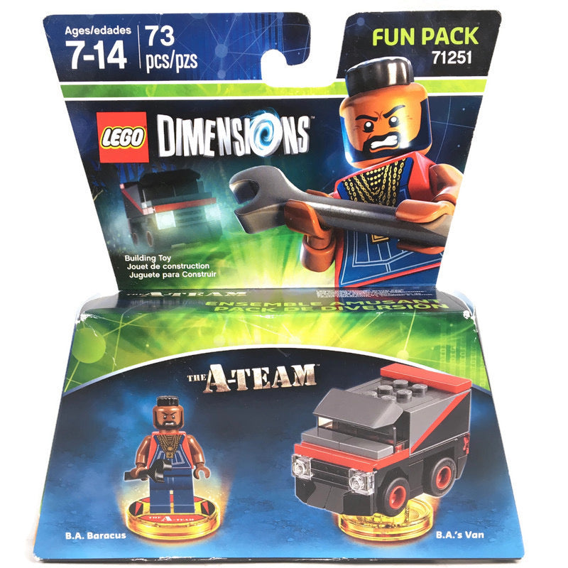 Lego Dimensions The A-Team Fun Pack 71251
