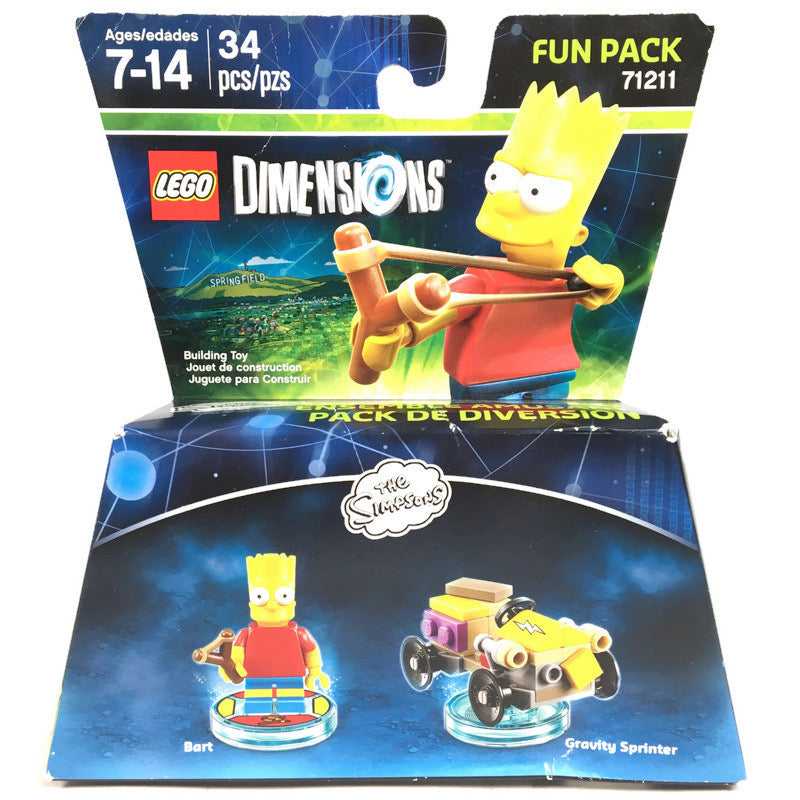 Lego Dimensions The Simspons Fun Pack 71211