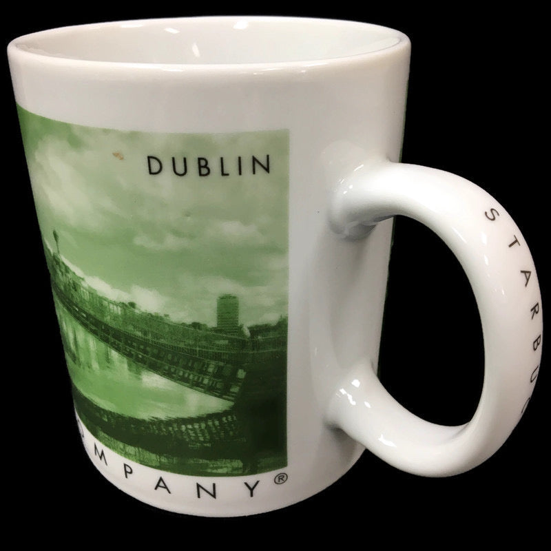 Starbucks Coffee Green Dublin Ireland City Mug