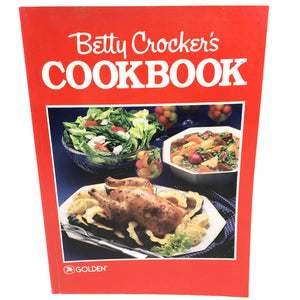 Betty Crockers Golden Eighth Printing 1989 Cookbook Book