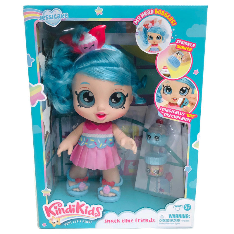 "Kindi Kids Jessicake Snack Time Friends 10"" Doll"
