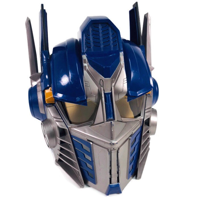 Optimus Prime Transformers Dark Of The Moon Talking Voice Changer Helmet Mask