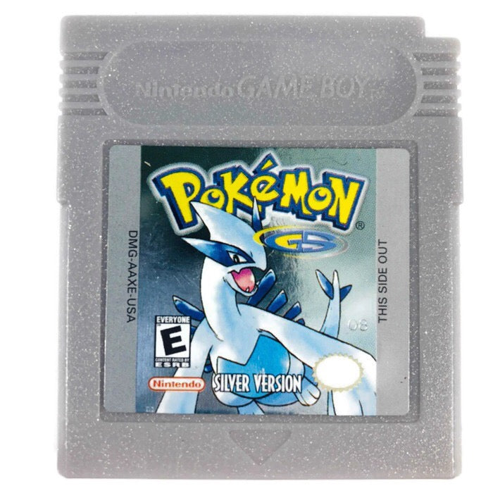 Pokemon Silver Version Nintendo Game Boy GB SAVES *AUTHENTIC*
