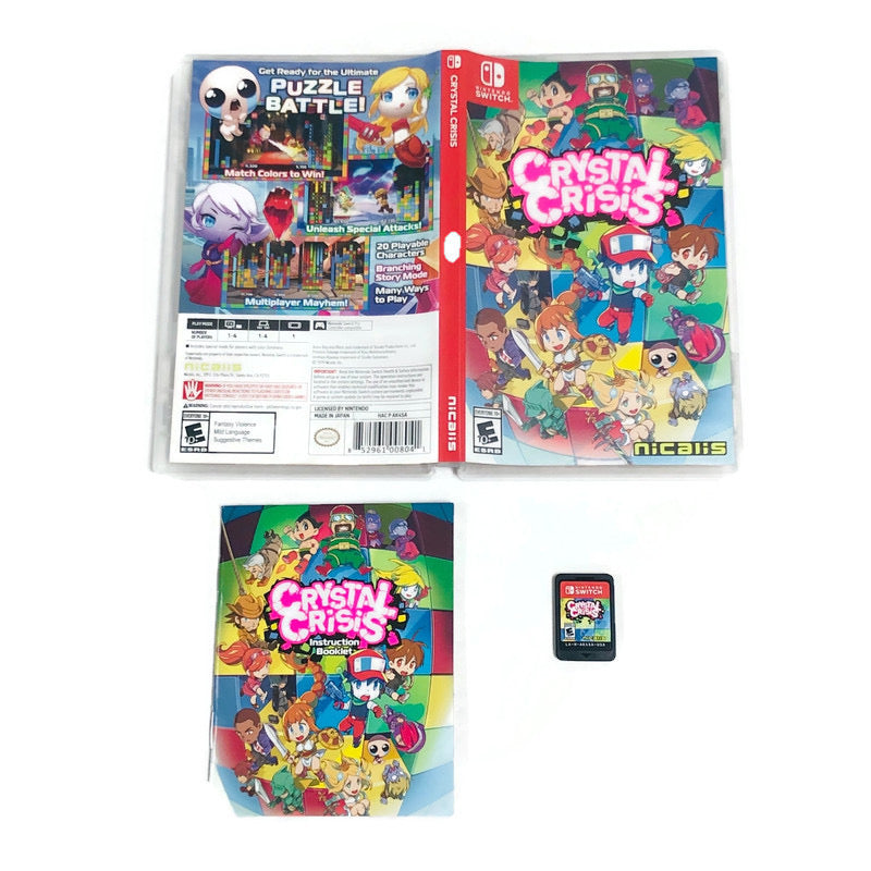Crystal Crisis Nintendo Switch