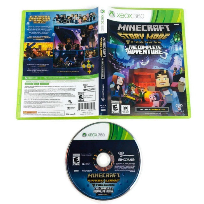Minecraft Story Mode The Complete Adventure Microsoft Xbox 360