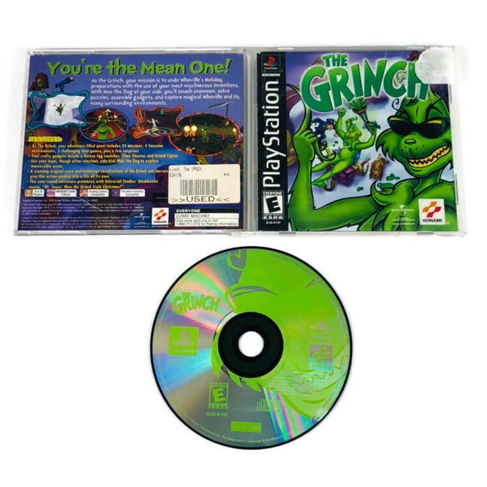 The Grinch Black Label Sony Playstation 1 PS1