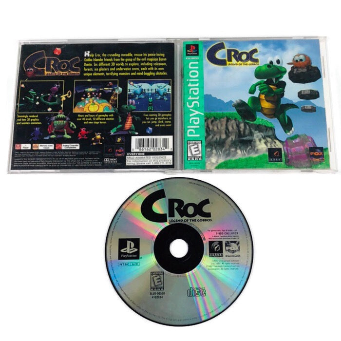 Croc Legend Of The Gobbos Greatest Hits Sony Playstation 1 PS1