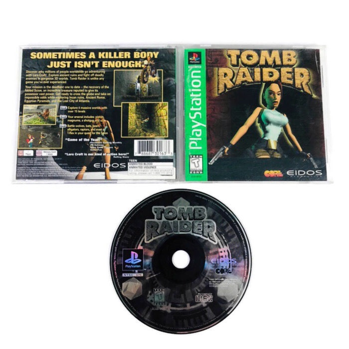 Tomb Raider Greatest Hits Sony Playstation 1 PS1