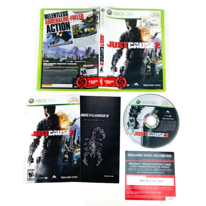 Just Cause 2 Microsoft Xbox 360